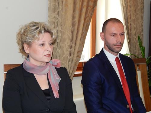 Sanja Zember i Damir Habijan