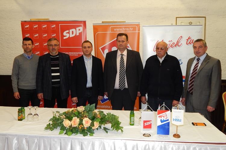 HNS SDP HSU Maruševec