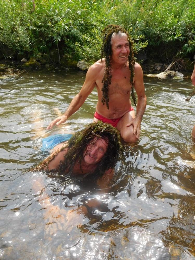 Čevo kupanje