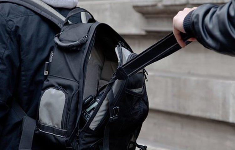 policija krađa ruksak