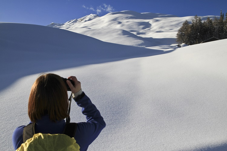 snijeg turist