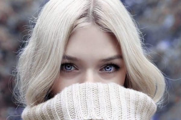 zima djevojka