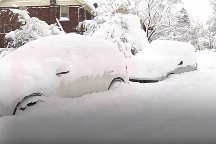 amerika snijeg