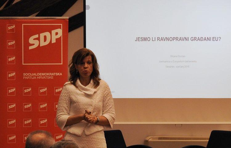 SDP Biljana Borzan