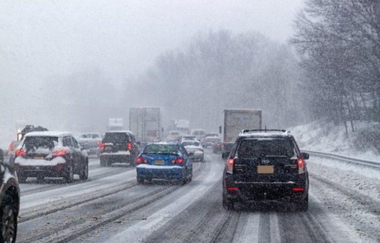 snijeg cesta promet