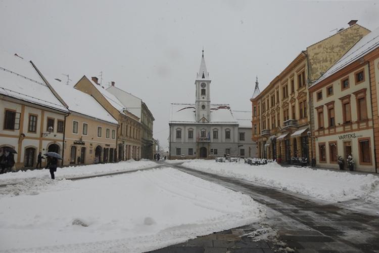 snijeg Varaždin
