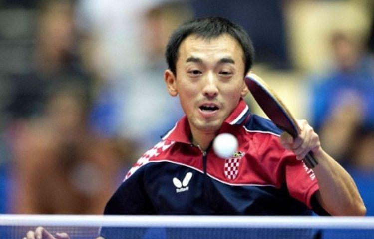 stolni tenis Tan Ruiwu