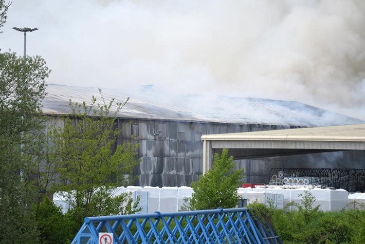požar Termika Novi Marof