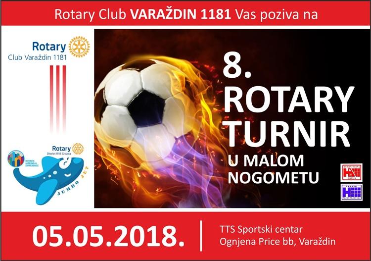 rotary turnir plakat