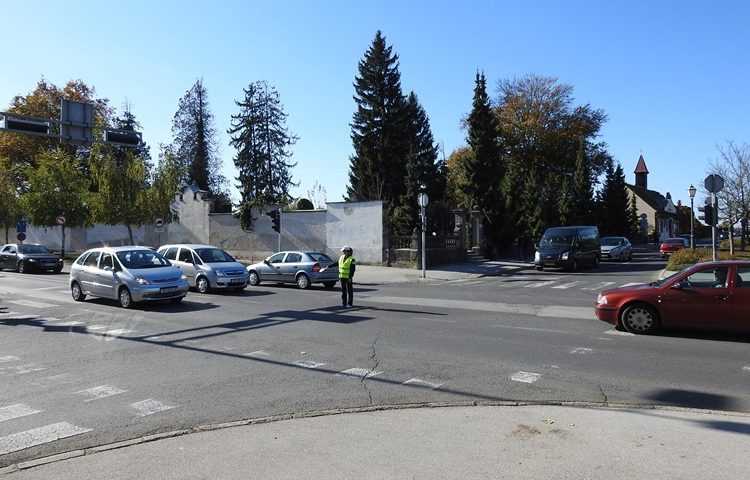 prometna regulacija groblje