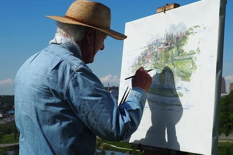 vz plac umjetnici slikar