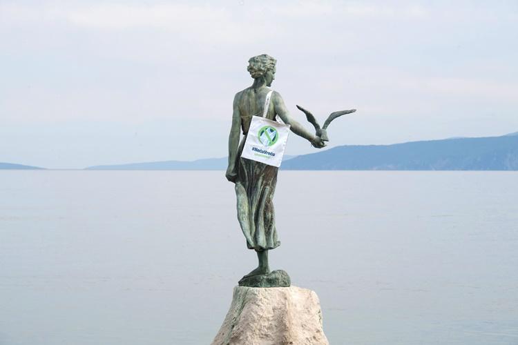 Foto Luigi Opatija, Greenpeace Hrvatska, Kampanja Neću Vreću 2
