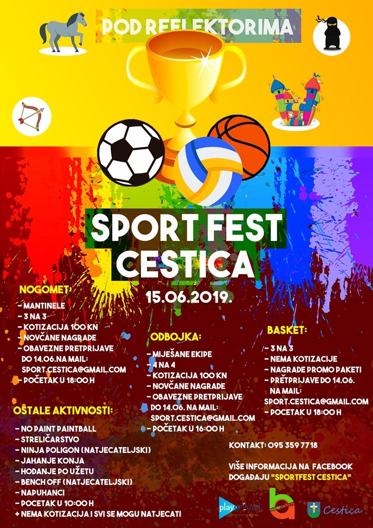sport fest plakat