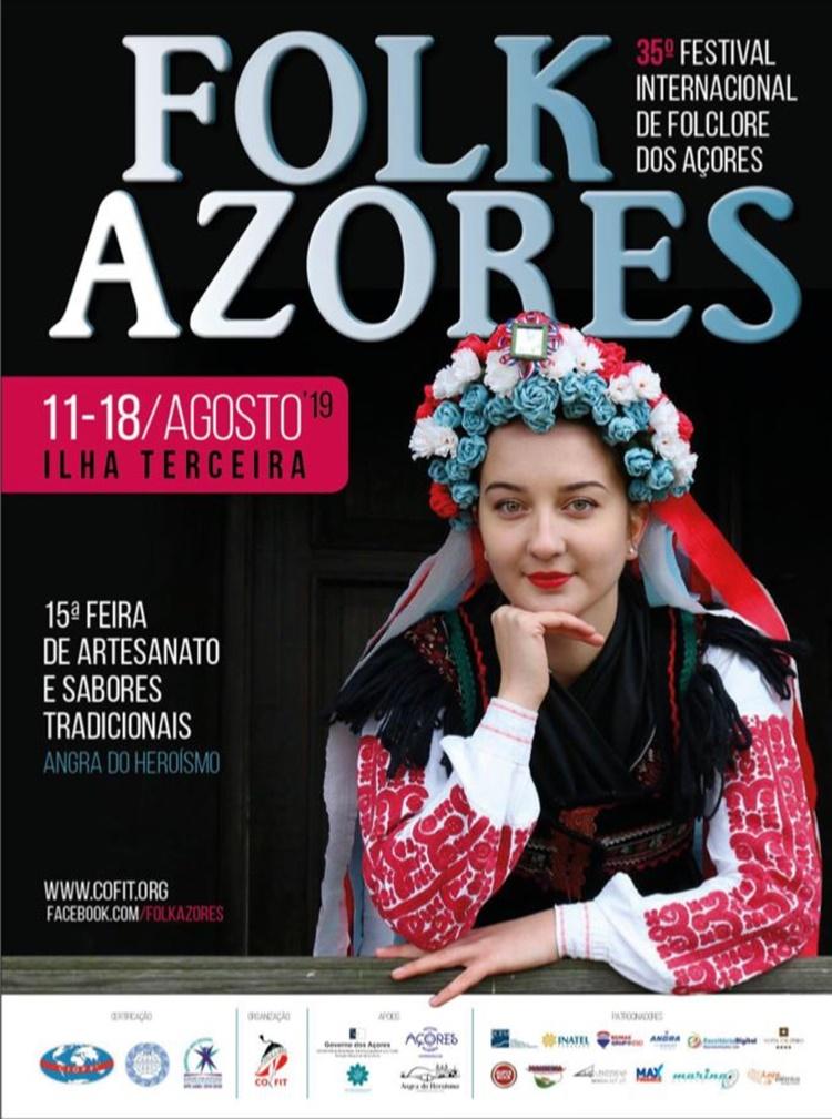 Plakat Folk Azores 2019