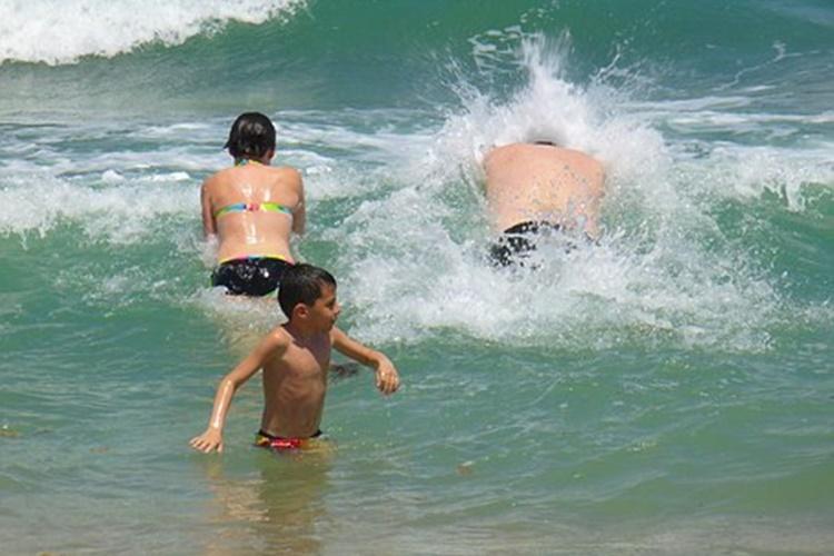 ljeto more kupanje