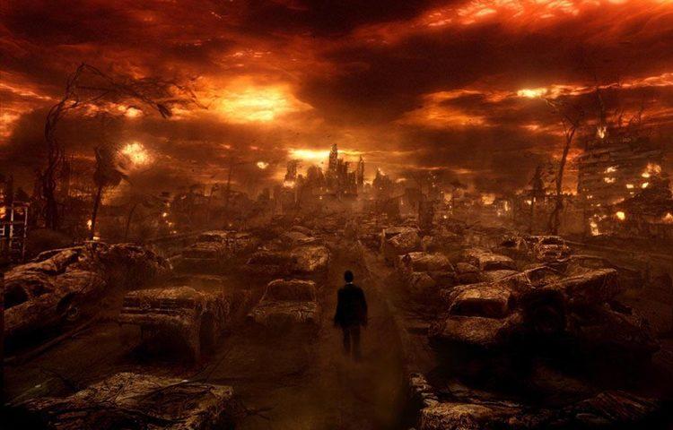 apocalypse red sky