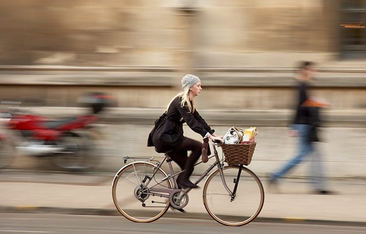 bicikl kosarica