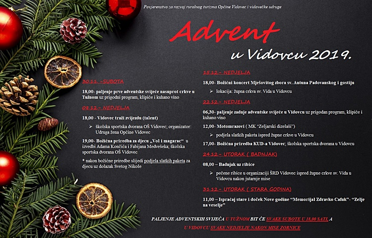 advent vidovec