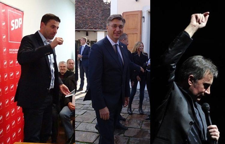 Bernardić Plenković Škoro