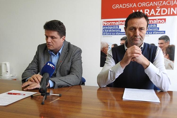 SDP traži da Gradsko vijeće donese preporuku o obustavi progona sugrađana, rečeno je na današnjoj konferenciji za medije na kojoj su govorili predsjednik GO SDP Varaždin Miroslav Marković i predsjednik Kluba vijećnika SDP-a Neven Bosilj.