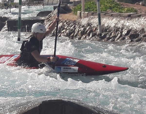Katja Bengeri slalom