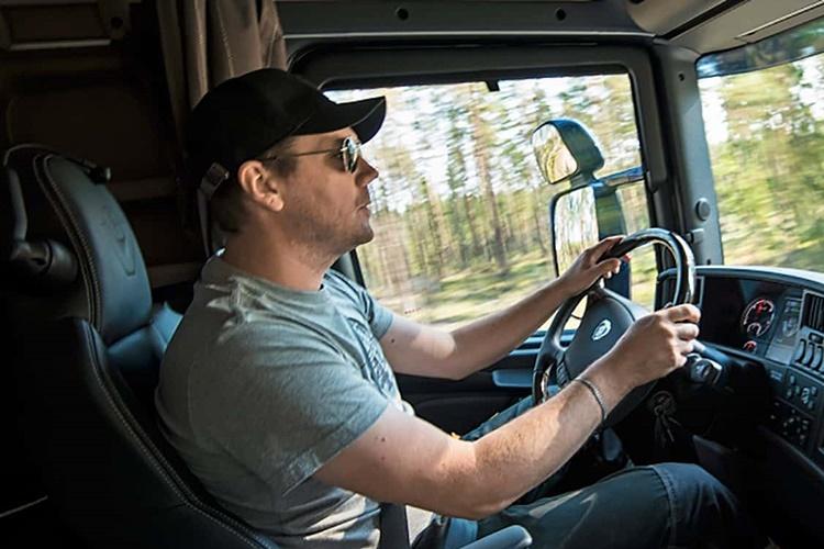 kamion vozac
