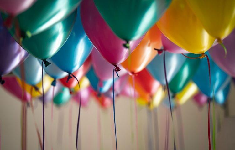 baloni rodendan slavlje