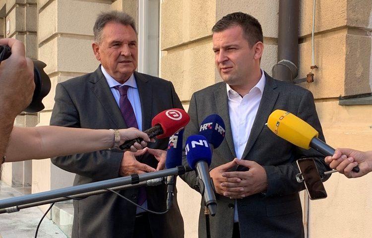 Dario Hrebak i Radimir Čačić