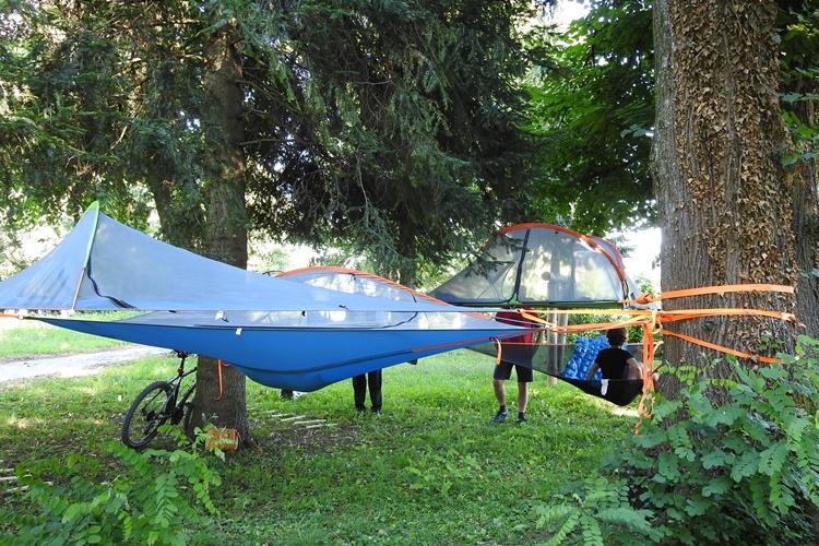 lebdeći šator