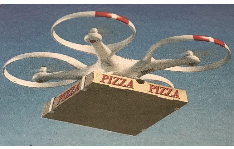 Pizza dron