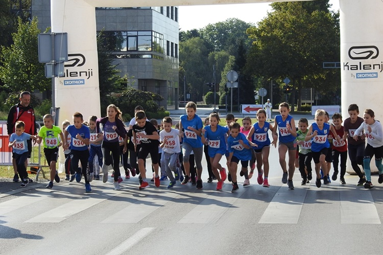 26 varazdinski polumaraton 2 djeca 500m