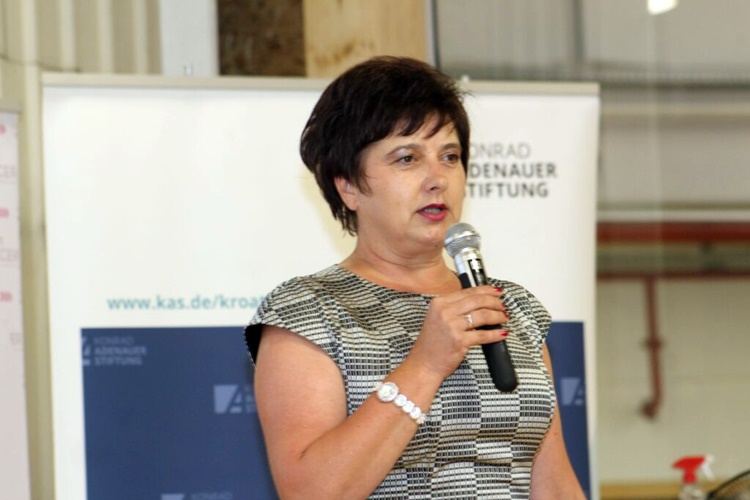 Dragica Ratković, gradonačelnica V. Toplica