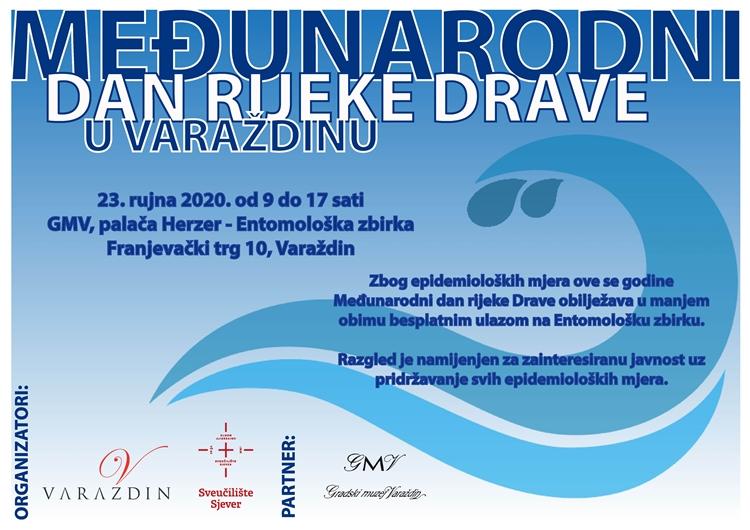 Medjunarodni dan rijeke Drave 2020 - plakat