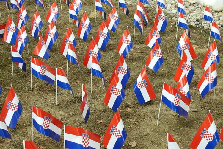 dan oslobodjenja varazdin 7 hrvatska zastave