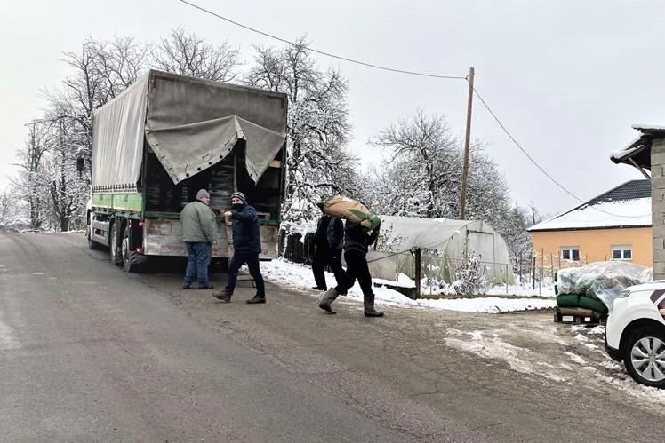 Donacija stočne hrane Blagodar