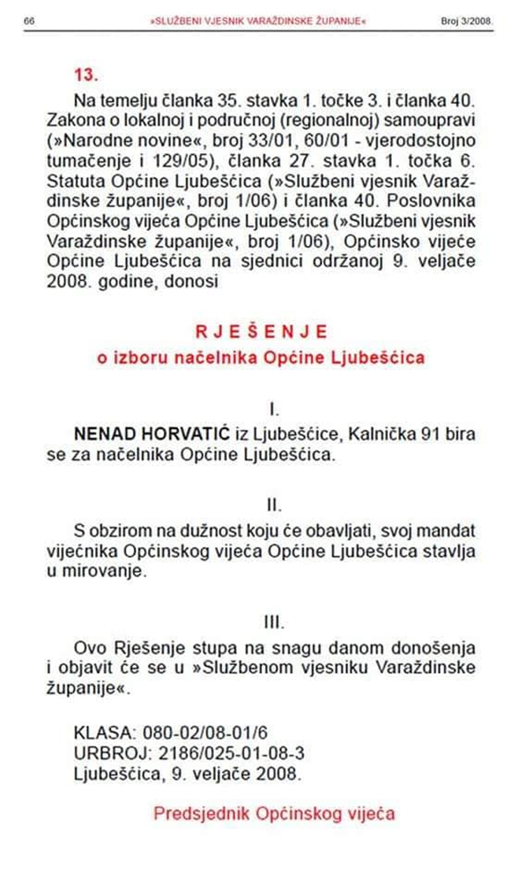 ljubescica horvatic 1
